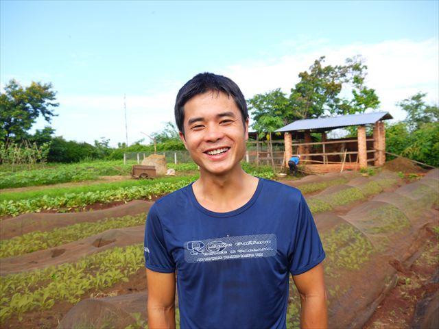 生産管理者のティエンさん、日本語ペラッペラ。