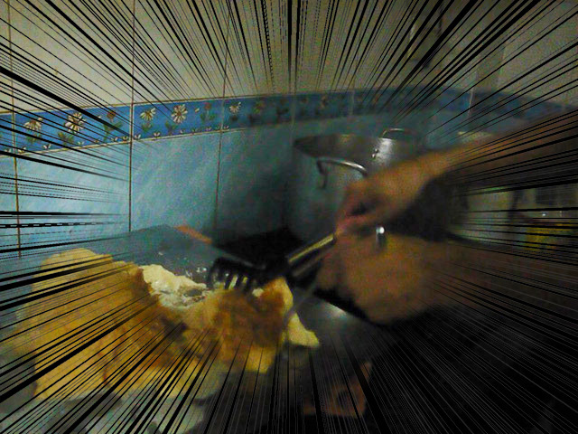 これが世界最大のフレンチトーストじゃーい!!
