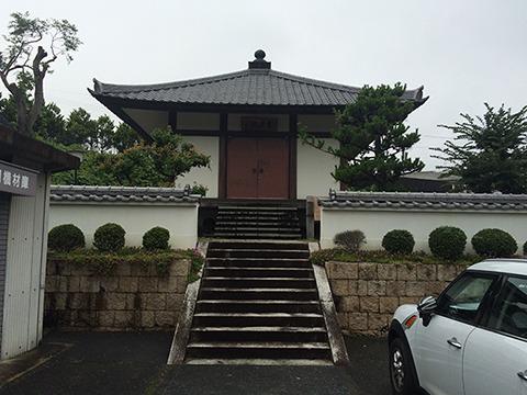 融念寺というお寺。ここのお地蔵さんが有名らしい