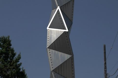 ここが三角