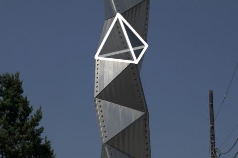 こころの目で見ると正四面体が見えてくる