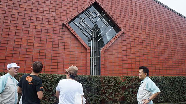 ニッカ時代のまま使用している窓
