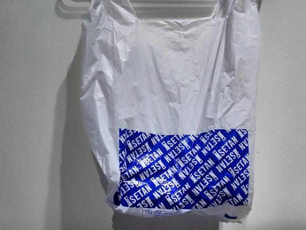 こんな袋のところで買ってきました。ビニール袋にもセレブの風を感じる。