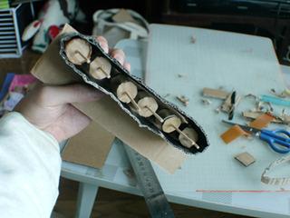 A belt conveyor was made.