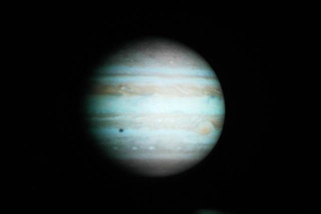 木星。元画像はNASAのこれ</a>。
