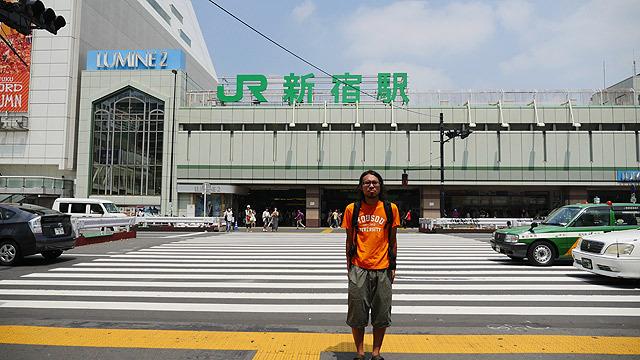 ということで、新宿駅に来ました!