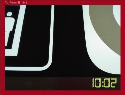 わかったよという意味を込めて日比谷線のマークを撮って送った。ギリギリ文字が入らないように。
