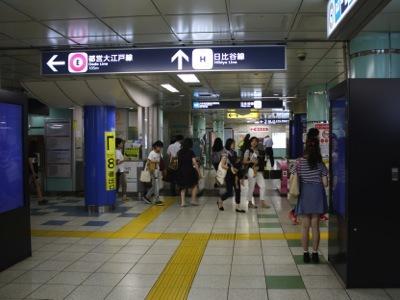 六本木駅……全く見当たらないのである