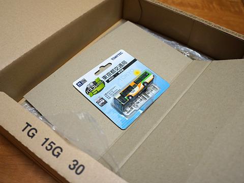 amazonの箱の奥底に厳重に梱包されてきた。
