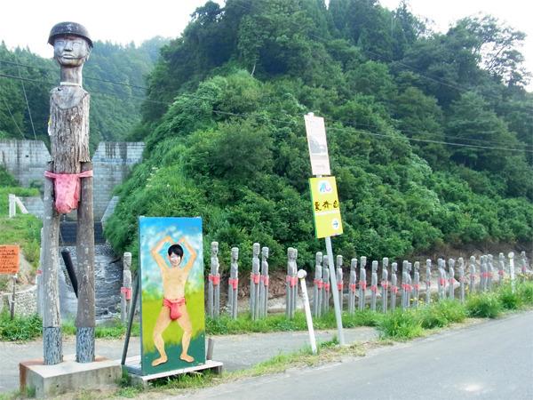 新潟で盛り上がっている「大地の芸術祭」の一作品。この写真は私がよく知らないまま撮っていたもの。