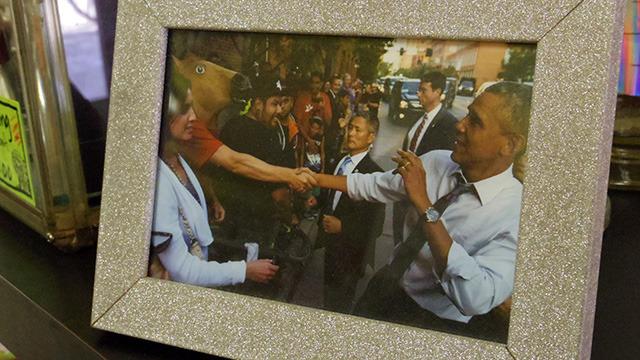 オバマをびびらせた記念