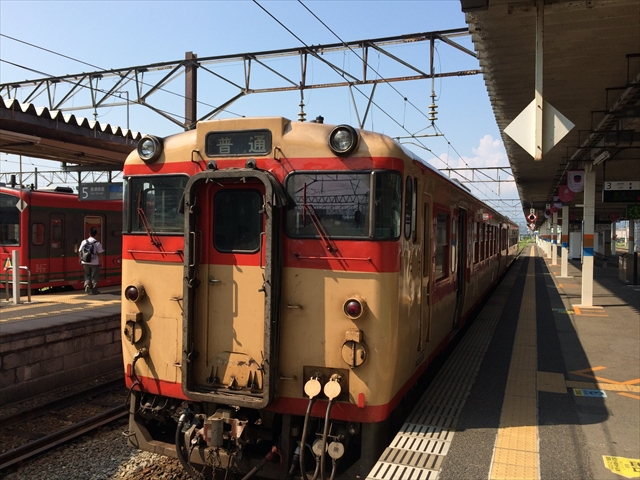 磐越西線・山都駅に向かいます