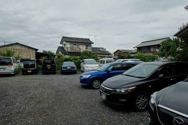 駐車場に車がいっぱい!