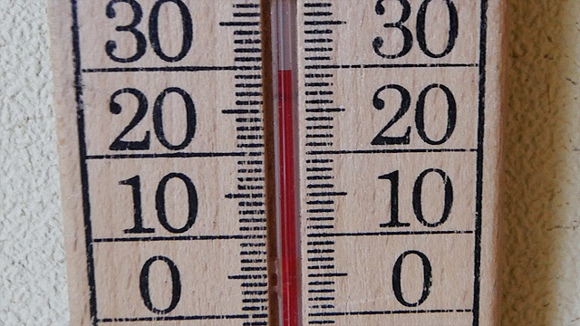 ちなみに今の温度は「30℃」です!