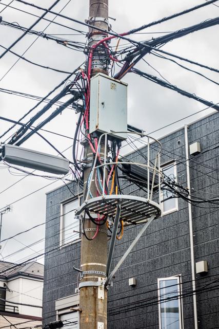 そういえば近所の電柱に常設の人がのぼって作業をするためのスペースがあって「のぼりたい!」と思ったがこらえた。