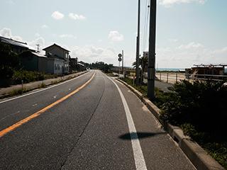 海岸前の通り