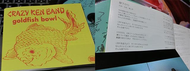 投稿にある歌詞はCKBのアルバム『goldfish bowl』の『昼下がり』に!