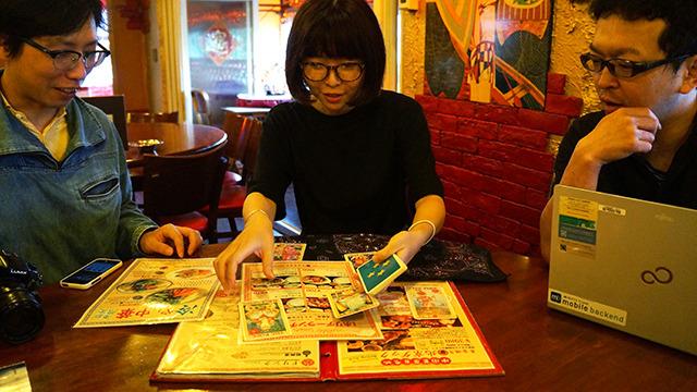 店では占い師のタロットでメニューを決める。時限式カレー麻婆麺はどうなったんだ