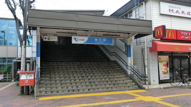 次の駅に到着。ここから、電車で9分のとこに行く。だいたい、どこくらいになるのかと考えた結果、