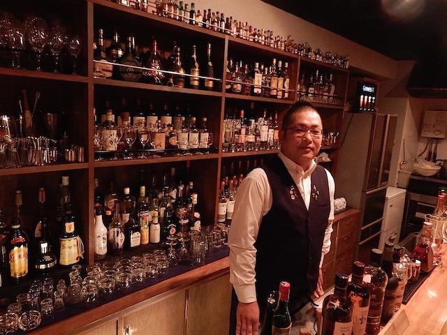 マスターの松山晴彦さん(41歳)