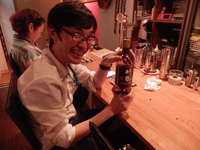 これこれ、竹鶴の12年。終売品なんですよ