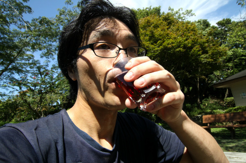 ワイン自体も、うん、うまい