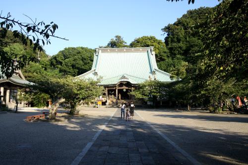 鎌倉随一の三門を持ち、本堂も江戸前期のもので重要文化財だが、観光客があまりいない静かなお寺だ