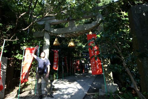 一見すると小ぢんまりとした八雲神社も……