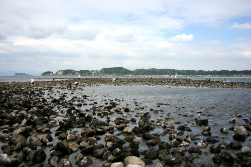 和賀江島(日本現存最古の築港遺跡)を見に行ったら――