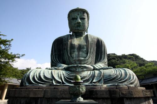 まさしく、鎌倉大仏の威容である