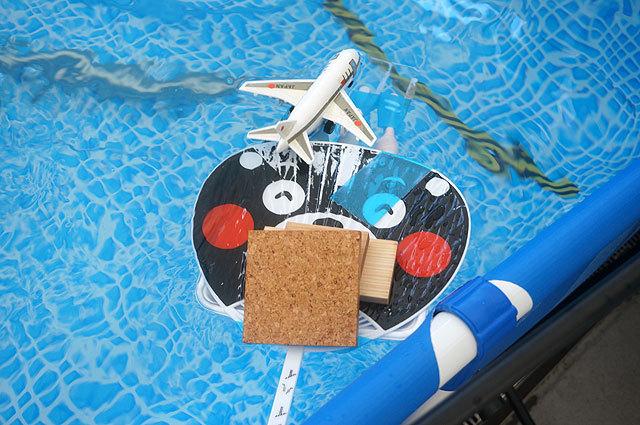 水中モーターの代わりに、電動歯ブラシを使っているから(3人家族(ツカヤ))