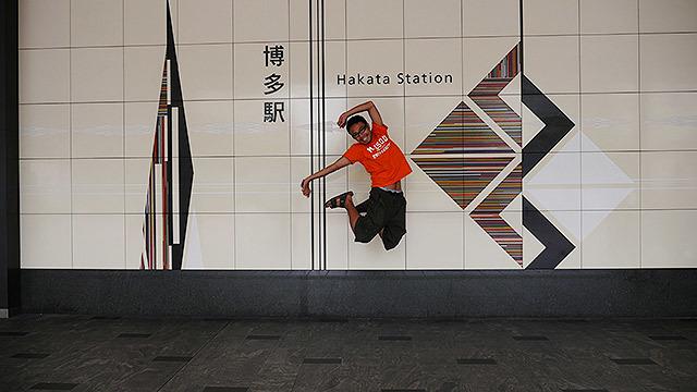 ということで、博多駅にやってきました!
