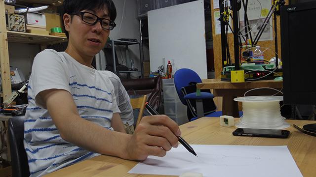 三男のテクノ手芸部、吉田さん