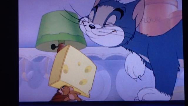 この穴のあいたチーズ、あこがれたなー