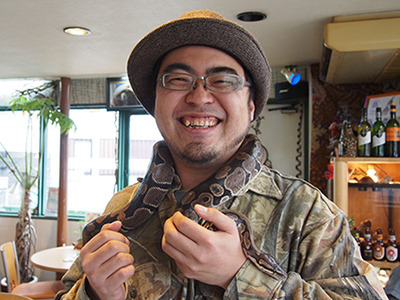 The ball python - the only snake that would make a great scarf.