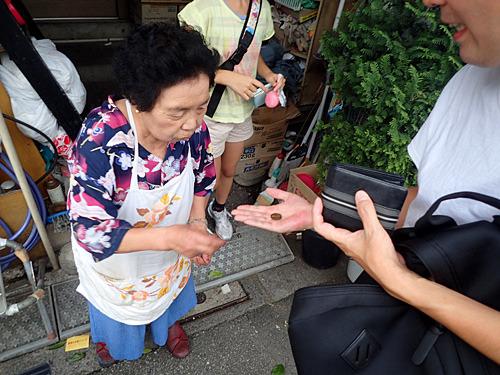 ラーメン2杯食べて、100円払ったら10円のおつりがきたよ。