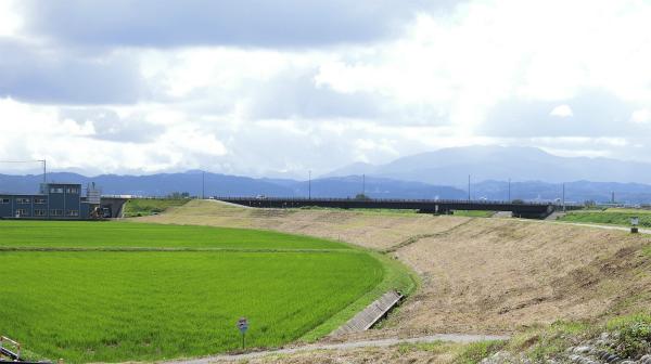 富山は景色がいいので、歩いていて気持ちいい。(汚い話をしたのでキレイな写真をお届けします。)
