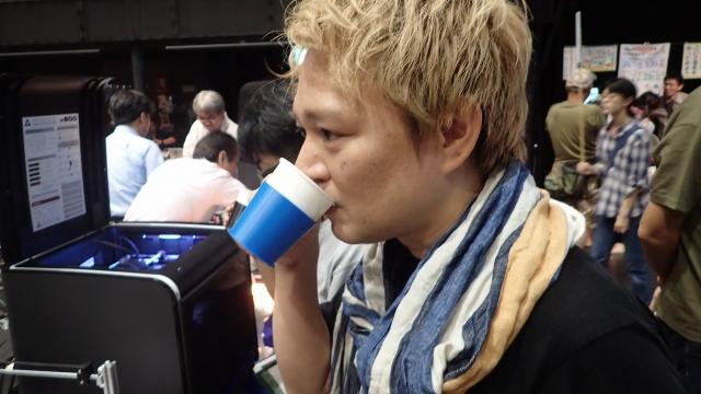 プリンタでいれたコーヒーの味は?