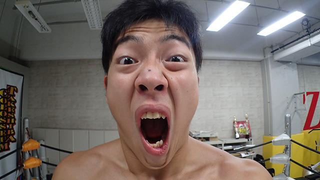 DDTプロレス竹下選手。