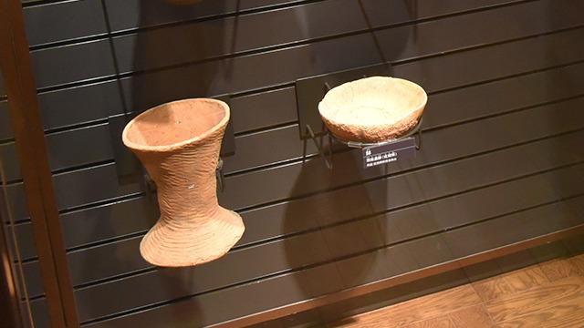 しかし科学博物館で見た鉢タイプ(右)に似ていなくもない。