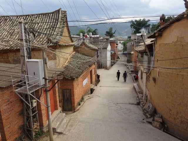 こんな昔から変化のない町があるのだから中国は広い。