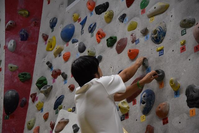これ以上登れないのは、ユニフォームではなく運動能力の問題