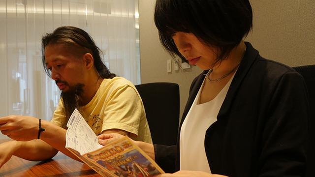 古賀が説明書を読み上げるのだが、みんな絵を見てないのでさっぱりイメージできない