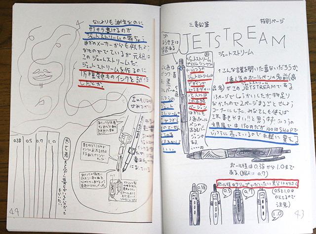前の方のページでちょっと紹介したが、飽きずに書き続けてるうちに物足りなくなって特集ページを作ったジェットストリーム。