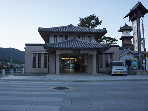 琴電琴平駅から今回の記事は始まる。