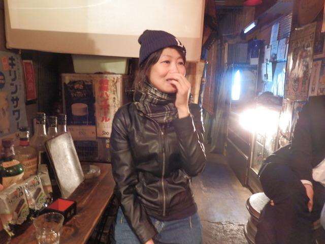 武蔵境生まれの女性客