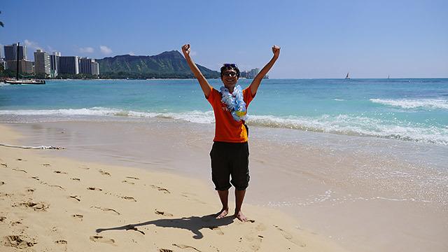 ということで、ハワイに来ました!