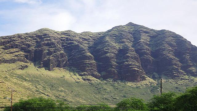 最初は感動した山
