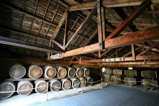貯蔵庫では最も古い、昭和14年(1939年)頃に建てられた第一貯蔵庫