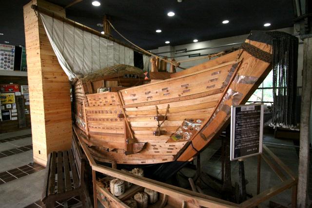 展示は余市の漁業や農業に関するもので、意外にボリュームがある